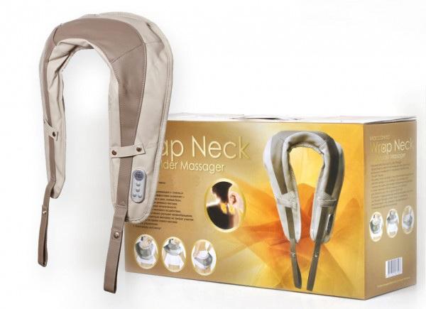 массажер wrap neck shoulder